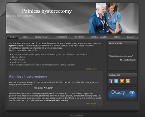 http://painlesshysterectomy.com
