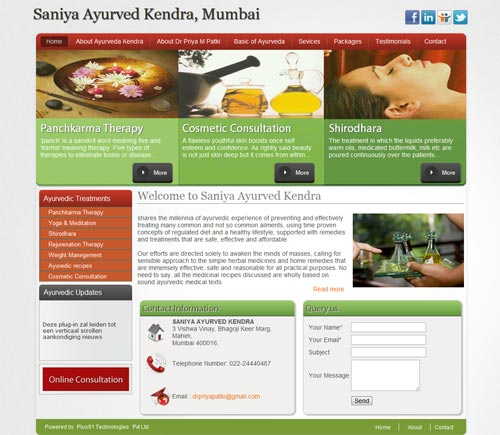 http://www.saniyaayurved.com/